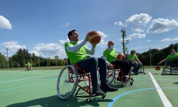 """Pistoia, il sindaco Tomasi """"battezza"""" il nuovo progetto di basket in carrozzina"""